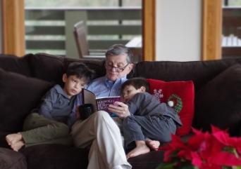 2013-12-7 Dad Nico Isaac